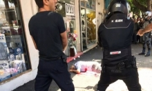نتانيا: إصابة مواطن من طولكرم وشرطي بعملية طعن