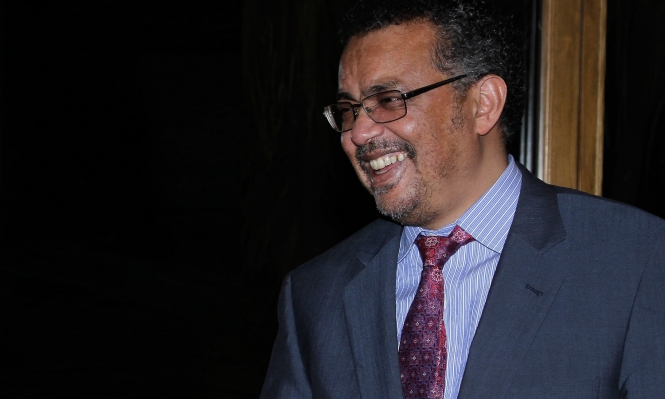 توادروس أدهانوم أول أفريقي رئيسًا لمنظمة الصحة العالمية