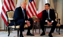 ماكرون يلتقي ترامب قبيل قمة الأطلسي