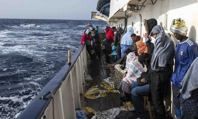 إيطاليا تنقذ 2100 مهاجر وتنتشل 35 جثة من المتوسط