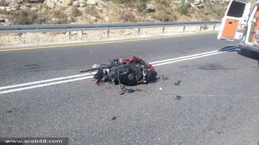 مصرع محمد نتشة من قلنديا إثر انزلاق دراجته النارية