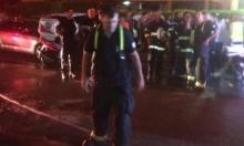 عكا: ألسنة النار تلتهم محلات تجارية