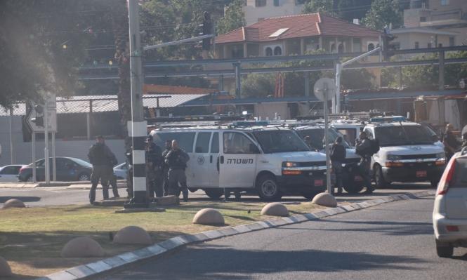 عرعرة: مواجهات بعد قمع الشرطة لمظاهرة إسناد للأسرى