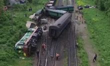 تصادم قطارين في أوكرانيا