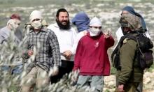 إصابة فلسطيني في اعتداء للمستوطنين بنابلس