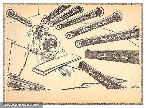 كاريكاتير الهزيمة: انفصال عن الواقع اتساق مع الخطاب السياسي