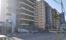 كفر كنا: إصابة 4 عمال إثر انهيار سقالات في ورشة بناء