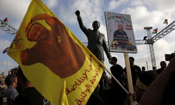 البرغوثي يرفض تعليق إضرابه عن الطعام