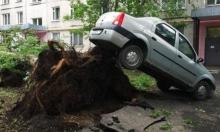 16 قتيلا في أعنف عاصفة تضرب موسكو منذ 30 عاما