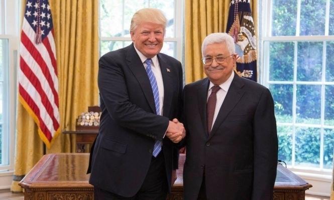 الرئاسة الفلسطينية تنفي تقريرا حول توتر بين عباس وترامب