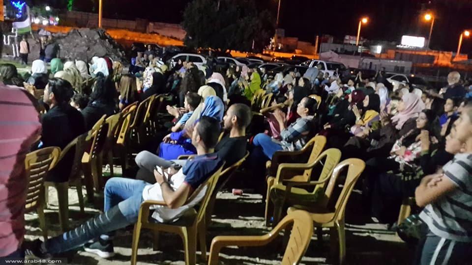 عارة: المئات بمهرجان الانتصار احتفاء بالأسرى