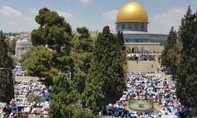 ربع مليون فلسطيني يؤدون صلاة الجمعة الأولى من رمضان في الأقصى