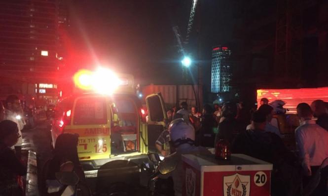 إصابة بالغة الخطورة لعامل تعرض لصعقة كهربائية