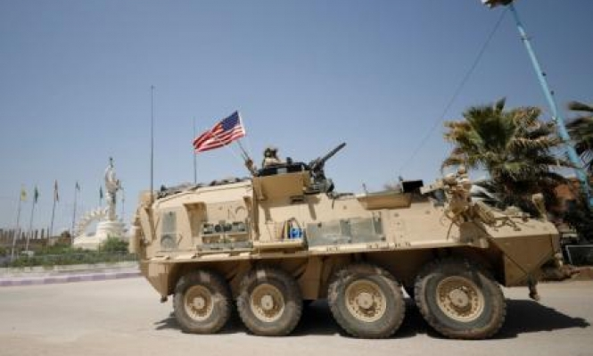 """أميركا تعزز """"قوتها القتالية"""" بسورية وتعتبر مسلحين تدعمهم إيران تهديدا"""