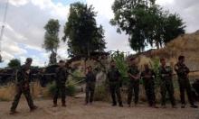 قسد تطرد داعش من أكبر بلدات ريف الرقة الغربي