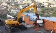 بلدية الاحتلال توزع إخطارات هدم لمنازل بسلوان
