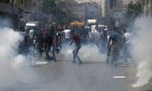 جرحى بمواجهات مع الاحتلال بالعيساوية وغزة