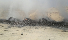 النقب: سكان قرية أم رتام يعانون من أكوام النفايات