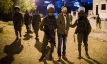 الاحتلال يعتقل 8 فلسطينيين بالضفة الغربية