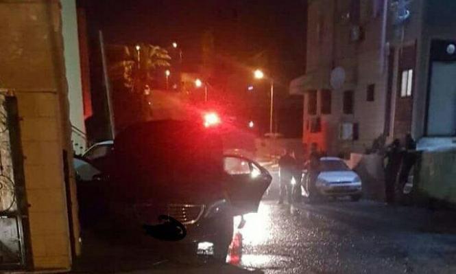 باقة الغربية: حرق سيارة عضو البلدية أبو مخ