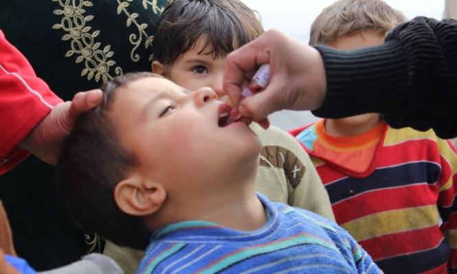 ظهور حالات إصابة بشلل الأطفال في دير الزور