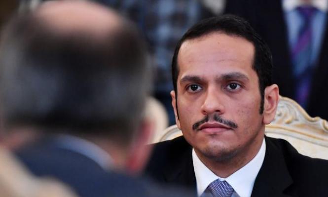 وزير خارجية قطر: ندعم الشعب الفلسطيني وحماس حركة مقاومة