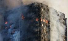 ارتفاع حصيلة قتلى حريق برج لندن إلى 12