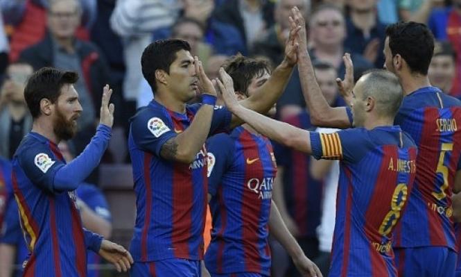 برشلونة يضع عينه على مدافع كولومبي