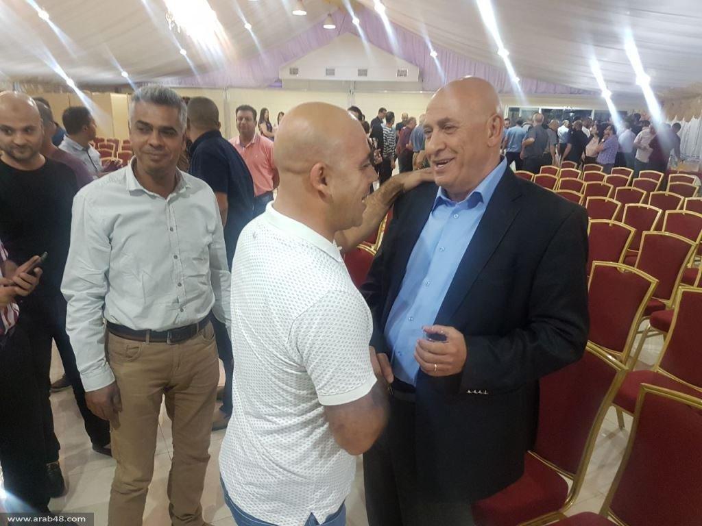 مجد الكروم تحتضن د. باسل غطاس بمهرجان شعبي