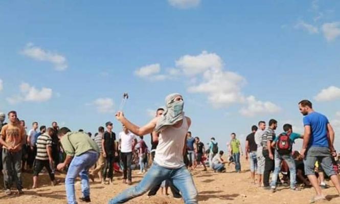 إصابات برصاص الاحتلال في غزة واختناقات بالغاز بالضفة