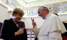"""بابا الفاتيكان وميركل يبحثان """"تهديدات الإرهاب"""""""