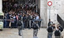 نتنياهو يعلن عن باب العامود منطقة عسكرية
