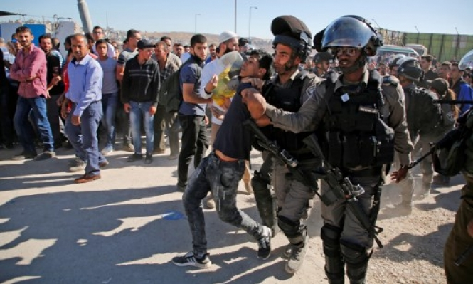 إصابات في مواجهات مع قوات الاحتلال في دير أبو مشعل