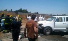 مصرع مسنين في حادث طرق على شارع 4