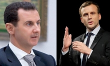 ماكرون: الأسد عدو للسوريين ولكن رحيله ليس شرطا للحل