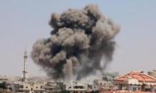 """مقتل مفتي """"داعش"""" بسورية وتواصل قصف درعا"""