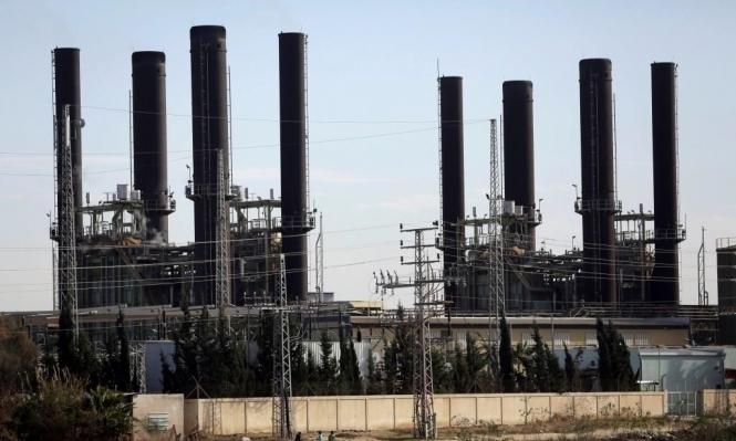 تشغيل محطة توليد كهرباء غزة بعد أشهر من التوقف