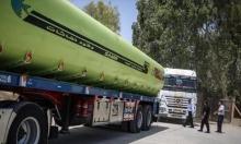 مصر تبيع السولار لمحطات الوقود في غزة