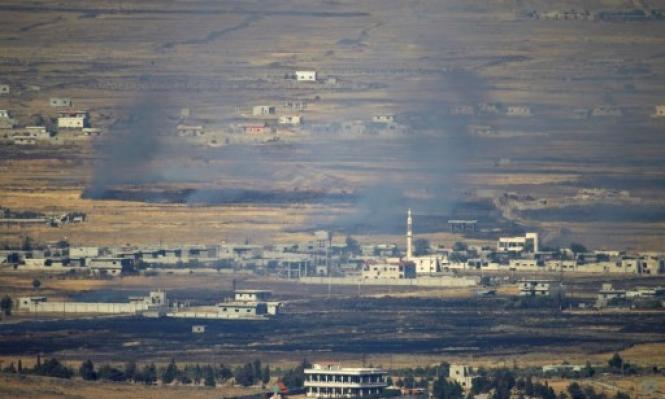 إسرائيل تقصف بسورية ردا على قذائف سقطت بالجولان المحتل