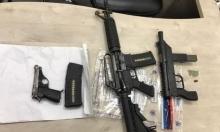 عرعرة: اعتقال 10 من أفراد عائلة بشبهة حيازة أسلحة