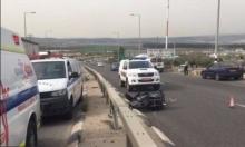 سخنين: إصابة 3 شباب بحادث طرق قرب طبرية