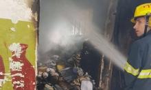 أم الفحم: التحقيق في ملابسات حريق مبنى البلدية القديم