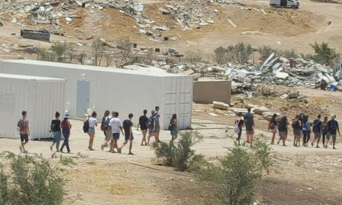 أم الحيران: هدم وإخلاء بيتين متنقلين الأحد المقبل