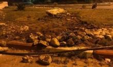 جنين: مصابان أثناء إزالة الاحتلال نصب الشهيد خالد نزال