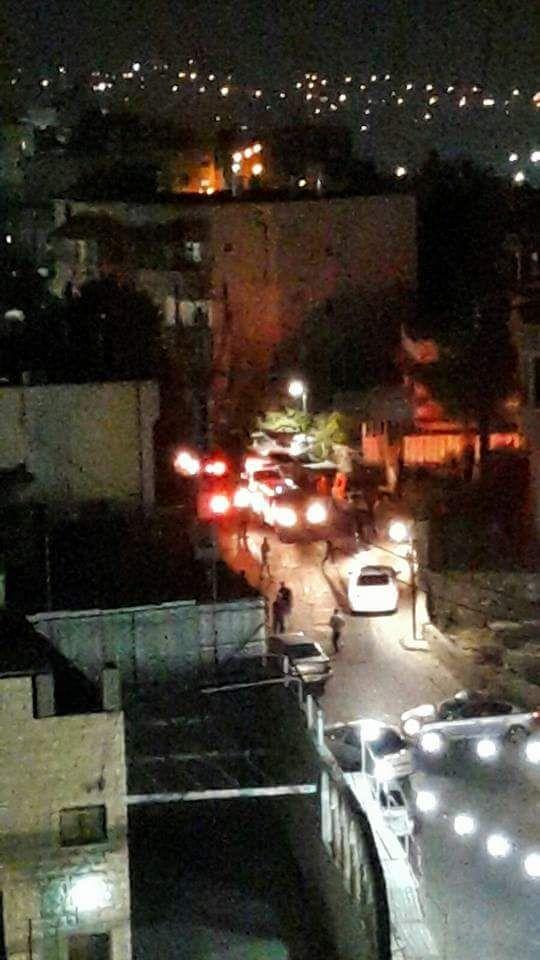 البعنة: إصابة شرطي بحادث دهس بعد مطاردة بوليسية