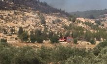 حريق قرب كابول وتحذيرات من الحرائق بسبب الطقس الحار