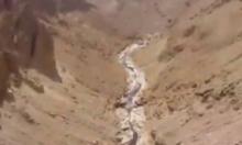 الصرف الملوث بمنطقة البحر الميت يستمر بالجريان