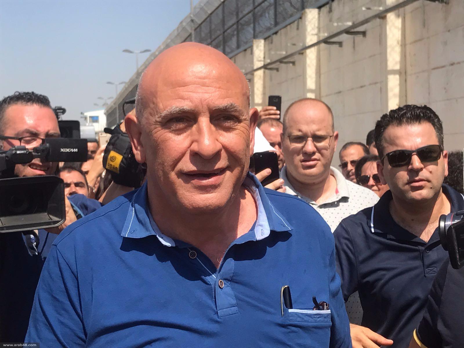 غطاس يبدأ يومه الأول في معركته من أجل الحرية في السجن