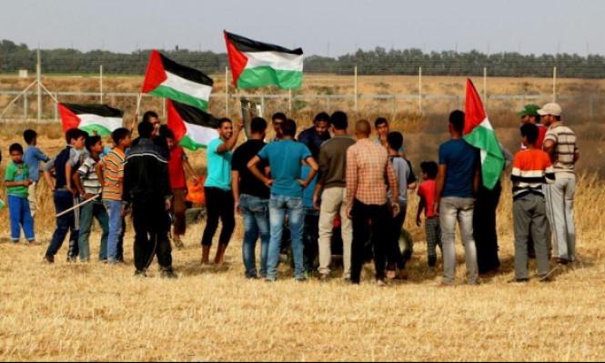 إصابات بالرصاص الحي بمواجهات مع الاحتلال بغزة
