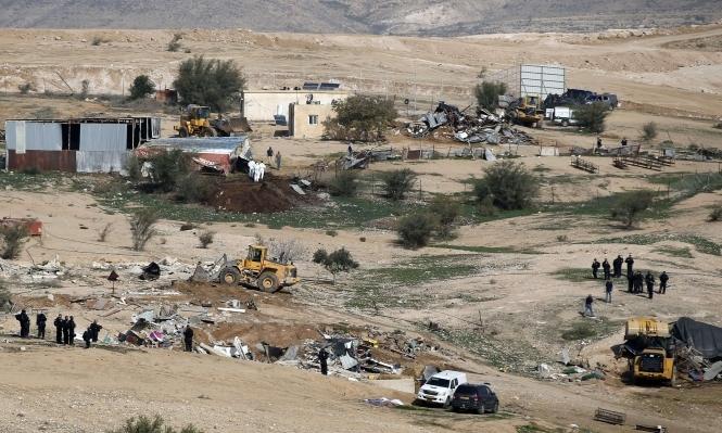 أهالي أم الحيران: الشرطة اقتحمت القرية تمهيدا لهدمها